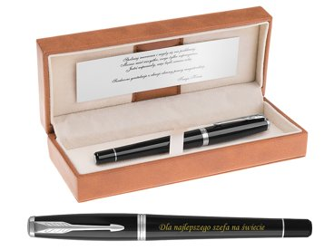 PARKER URBAN PIÓRO WIECZNE LONDON CAB BLACK GRAWER