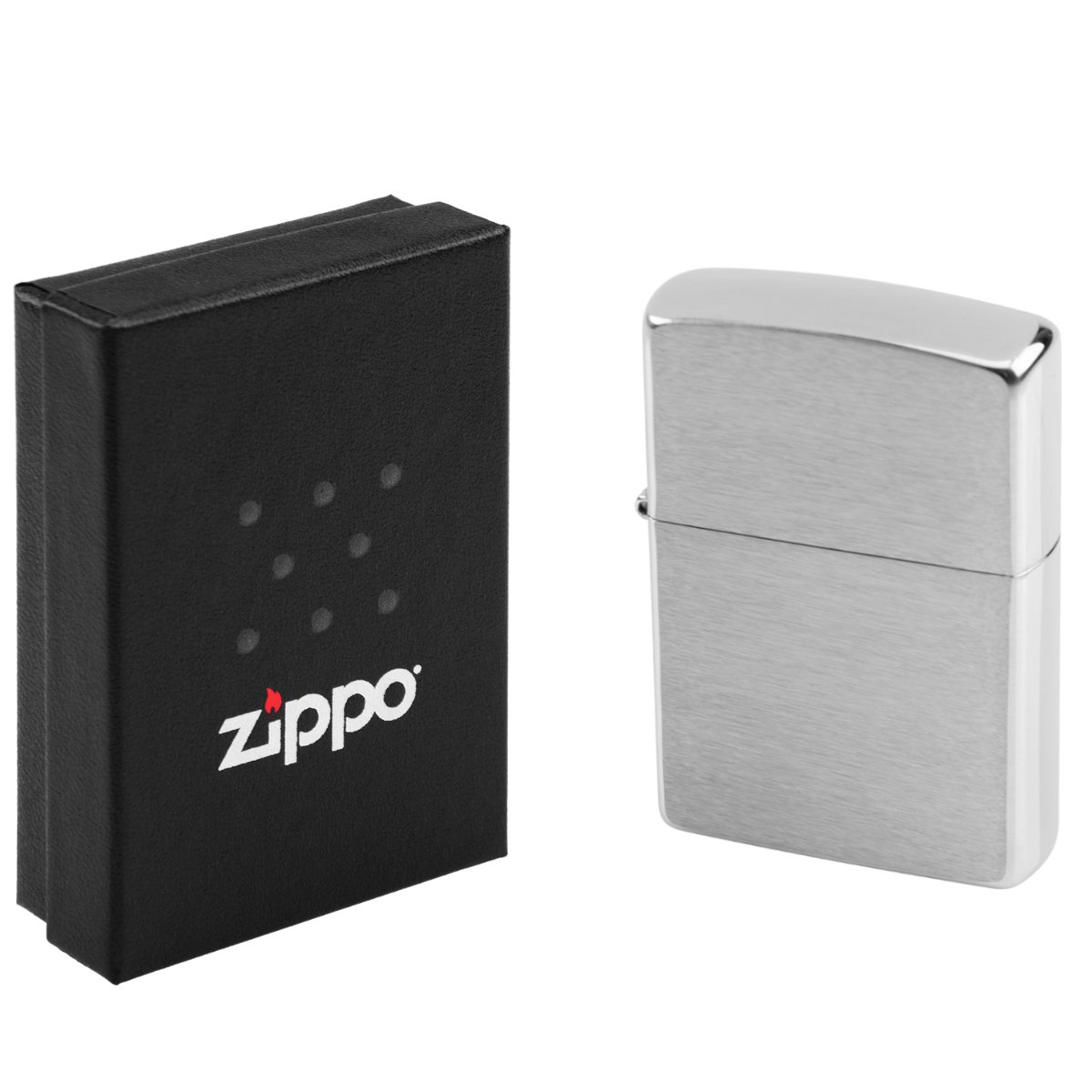 Zapalniczka ZIPPO 200 BRUSHED chrome GRAWER